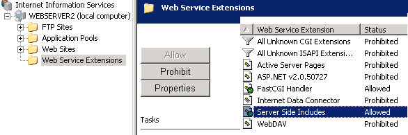 iis-ssi server side includes